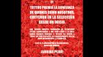 Facebook: Tottus devolverá dinero, pese a que Perú no llegó a la final - Noticias de jose lora