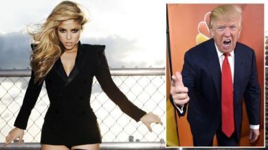 Shakira, Donald Trump