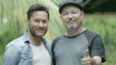 Entrevista: Diego Torres canta a dúo con Rubén Blades [Video]