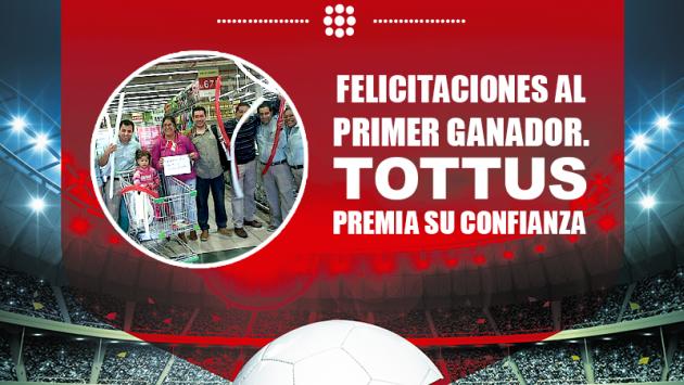 Tottus reembolsó dinero por compra de TV y, además, también regaló torta. (Facebook Tottus Perú)