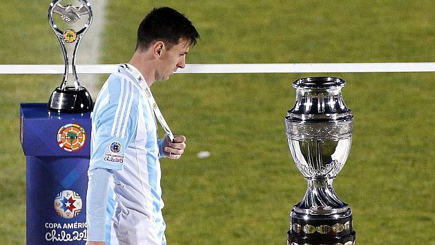 ¿Messi es el mas pechofrio de la historia de la selección?