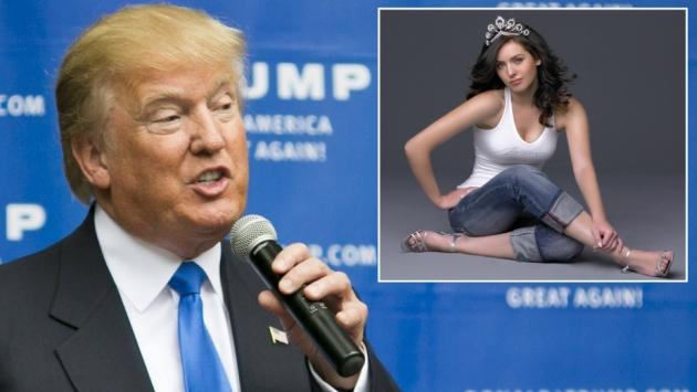 Donald Trump: Natalie Glebova, Miss Universo 2005, lo acusa de haberla agredido verbalmente. (Agencias)