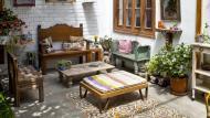 Recupere muebles antiguos. (Foto de Jaime Gianella. Espacio de Andrea Navascués).