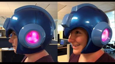 Capcom venderá por primera vez el casco de Megaman en tamaño real