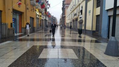 Lima soportó este martes el día más frío en lo que va del invierno [Fotos]