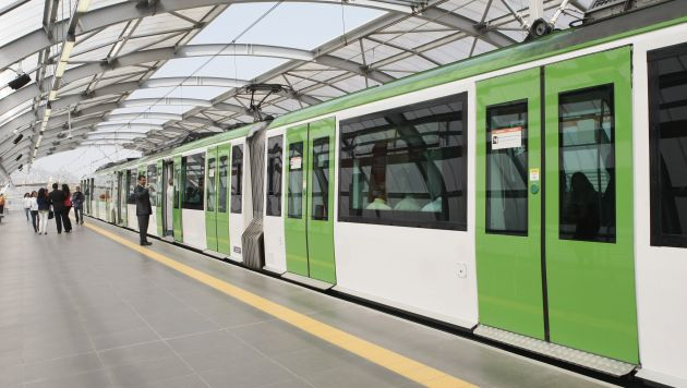 Línea 3 del Metro de Lima será subterránea. (Manuel Melgar/USI)