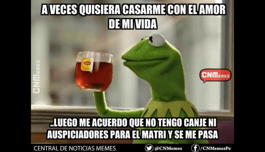 Mira los memes previos a la boda de Natalie Vertiz y Yaco Esquenazi. (Twitter)