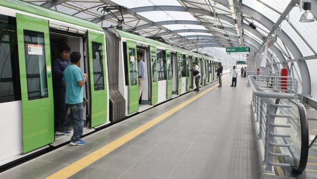 Duplicar el número de trenes de la Línea 1 del metro de Lima costará US$400 millones. (USI)