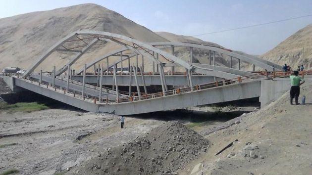 Puente fue inaugurado el 2011 por Alan García. (Trome)