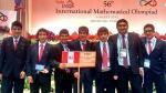 Estudiantes peruanos ganaron 2 medallas de oro en Olimpiada Internacional de Matemática - Noticias de raúl alcántara castillo