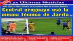 Copa América 2015: Uruguay también hizo un 'jarazo' contra Jamaica [Fotos] - Noticias de mauricio pinilla