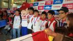 Reciben como héroes a escolares que ganaron medallas en Olimpiadas de Matemáticas - Noticias de raúl alcántara castillo