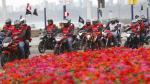 Fiestas Patrias: 2,500 motociclistas formaron bandera de 2 kilómetros [Fotos] - Noticias de distrito de san marcos