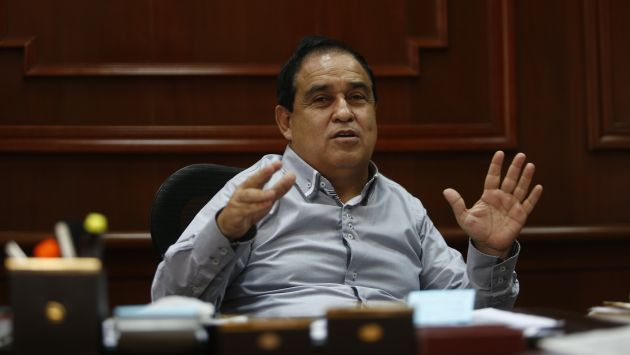 No quiere repetir el plato. Fredy Otárola descartó postular a la presidencia del Congreso. (César Fajardo)