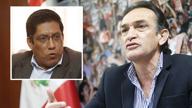 Héctor Becerril dice que candidatura de Vicente Zeballos a la Mesa Directiva del Congreso 'nació manchada'. (Perú21)