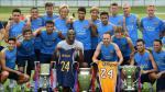 Barcelona: Kobe Bryant visitó las prácticas del equipo de Luis Enrique - Noticias de angeles lakers