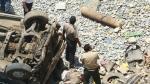 Huánuco: Cinco personas fallecieron tras caída de combi a abismo de 300 metros - Noticias de edwin vasquez