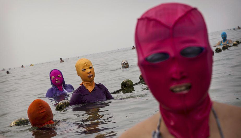 Zhang Shifan ha vendido 30.000 máscaras en el último año (EFE).