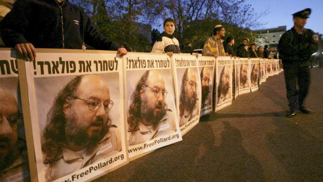 EEUU liberará en noviembre al espía israelí Jonathan Pollard. (Reuters)