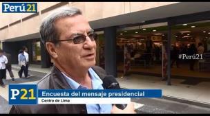 Esto le pide la ciudadanía a Ollanta Humala en su último discurso [Video]
