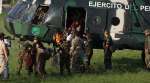 VRAEM: Rescataron a 26 niños y a 13 adultos cautivos por Sendero Luminoso