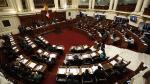 Congreso de la República: Solo dos listas competirán por la Mesa Directiva - Noticias de vicente zevallos