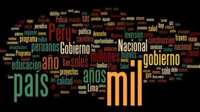 Las 5 palabras que Ollanta Humala más repitió en su mensaje a la Nación