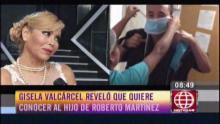 Gisela Valcárcel, Roberto Martínez, El gran show