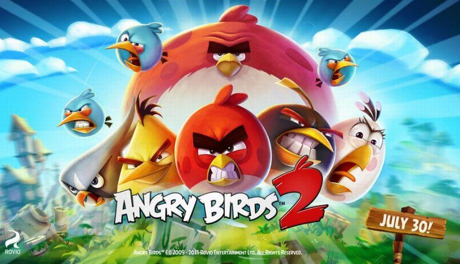 La primera edición de Angry Birds apareció en el mercado en 2009. (Rovio)