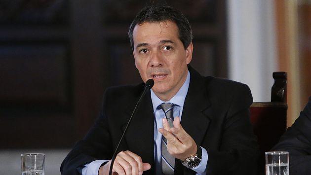 Alonso Segura dijo que no hay plazo determinado para dicha evaluación. (Luis Gonzales)