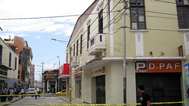 Chiclayo: Al menos 1,200 viviendas colapsarían por lluvias intensas. (Fabiola Valle)