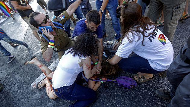 Seis personas fueron apuñaladas el jueves pasado en Israel. (EFE)