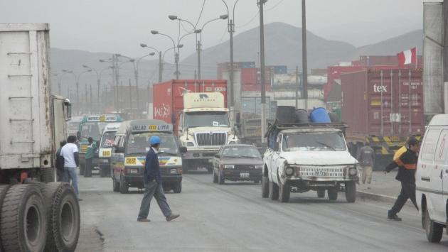 El primer tramo del tranvía comprenderá las avenidas Néstor Gambetta, Guardia Chalaca y 2 de Mayo, hasta llegar al Centro del Callao. (El Comercio)