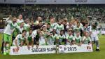 Carlos Ascues: Wolfsburgo ganó Supercopa de Alemania al vencer al Bayern Múnich
