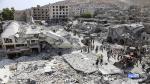 Siria: Al menos 31 muertos por bombardeo y caída de avión de combate [Fotos y video] - Noticias de accidente en chincha