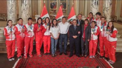 Juegos Panamericanos 2015: Medallistas peruanos recibieron reconocimiento [Fotos]