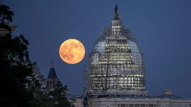 'Luna azul': Así se vio el evento cósmico en el mundo [Fotos y video]