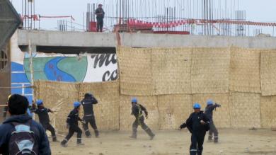 Construcción Civil, Inseguridad ciudadana