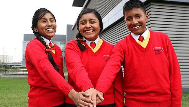 Tres escolares cusqueños ganaron medalla de oro en Olimpiadas de Corea. (Minedu)