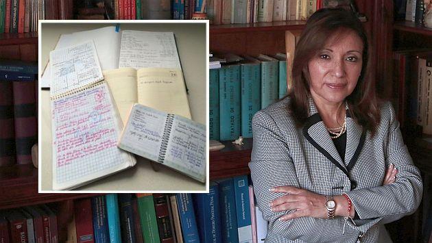 Nadine Heredia: Procuradora Julia Príncipe llegó a la Fiscalía para entregar agendas. (Perú21)