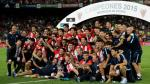 Athletic de Bilbao se coronó campéon de la Supercopa de España tras vencer al Barcelona. (AP)