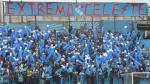 Sporting Cristal: El Extremo Celeste le respondió a la Trinchera Norte - Noticias de muere ahogado
