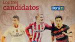 Real Madrid, Barcelona y Atlético de Madrid: Los tres favoritos de la Liga española [Foto Interactiva] - Noticias de cristian tello