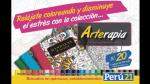 Arte Terapia llega a Perú21: colecciona estos 10 libros para colorear y olvídate del estrés - Noticias de impresa