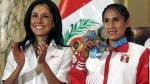 Nadine Heredia respaldó a Gladys Tejeda tras dar positivo en antidopaje [Video] - Noticias de panamericana