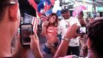 Times Square: Chicas en topless son el nuevo desafío del alcalde de Nueva York [Fotos] - Noticias de andrew cuomo