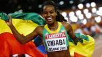 Atletismo: Genzebe Dibaba se consagró como la reina del 1,500 metros [Video] - Noticias de mundial atletismo 2013