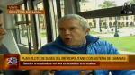 Metropolitano: 40 buses contarán con cámaras de seguridad, dijo Castañeda - Noticias de luis castaneda lossio