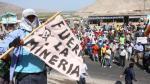 VISITA. Representantes de la minera informarán sobre proyecto a moradores del valle de Tambo. (Heiner Aparicio)