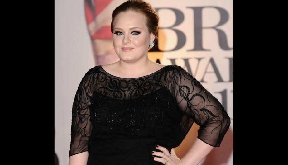 Adele se sometió a una dieta vegana y logró bajar 68 kilos. (Getty Images)